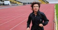 Olympic Torch - Elaine O'Sullivan