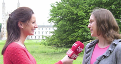 Cambridge Olympic Torchbearer Interview