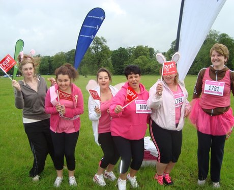 Fancy Dress at Aylesbury Race for Life