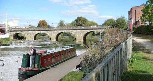 Melksham canals
