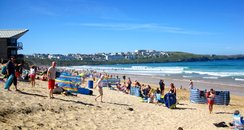 Fistral Beach Takeover
