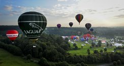 Balloons take off from Ashton Court