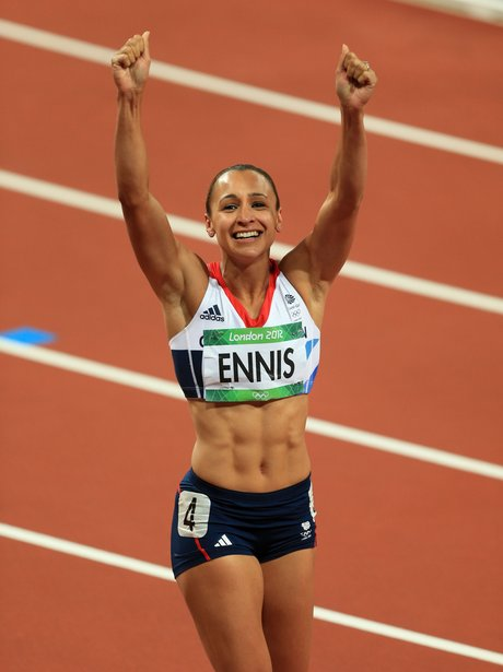 Jessica Ennis Guess Who Team Gb Heart