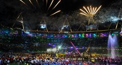 The Paralympic closing ceremony marked the end of London 2012