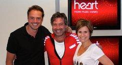 John Torode With Jamie And Harriet
