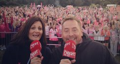 Kev and Ros at Race for Life