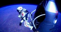 Felix Baumgartner Supersonic Skydiver