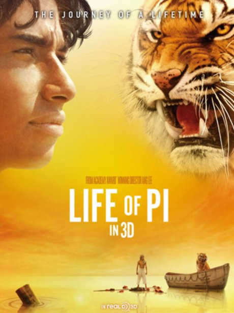 Life of pi at the movies this christmas heart for Life of pi cast