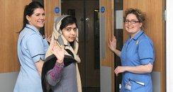 Malala Yousafzai leaves hospital in Birmingham