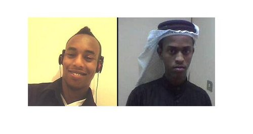 Mohammed Abdi Farah and Amin Ismail