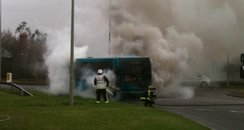 MK Bus Fire