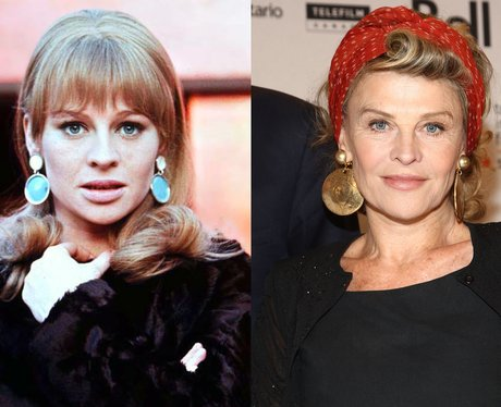Julie Christie now and then
