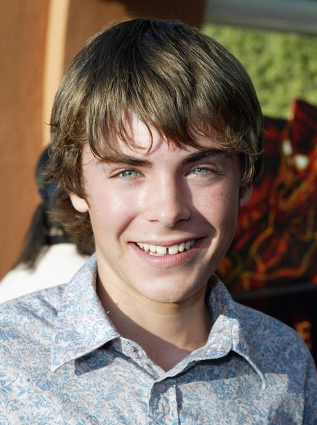 A young Zac Efron