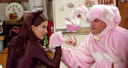 Friends Monica and Chandlers best moments
