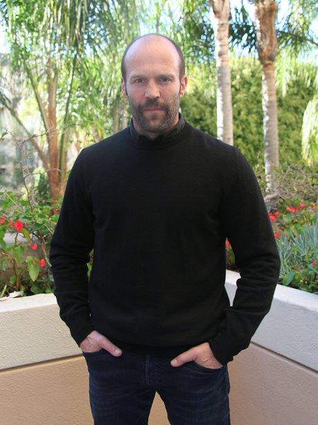 Jason Statham at Press Junket for Parker