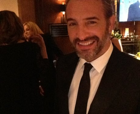 Oscars 2013 behind the scenes heart for Jean dujardin instagram