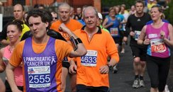 chester half runners
