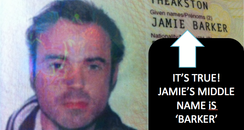 Jamie's passport