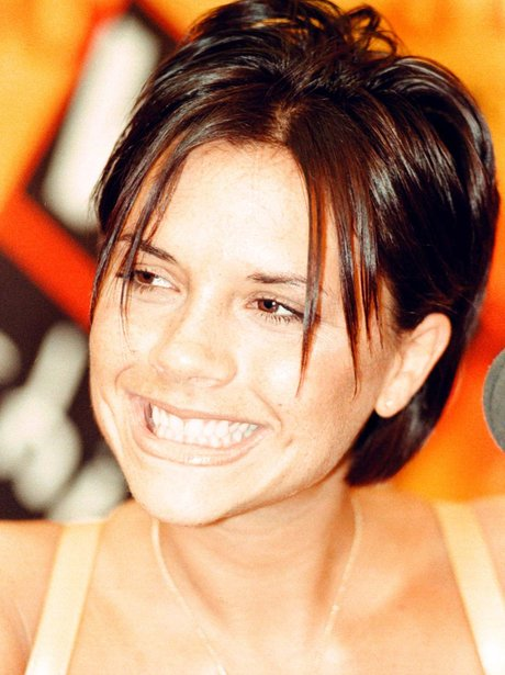 The time she smiled be... Victoria Beckham Smile