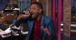 Will Smith on Letterman