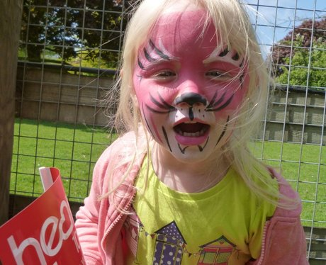 Howletts Zoo Face Painting