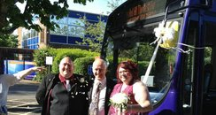 Allaway Wedding Bus