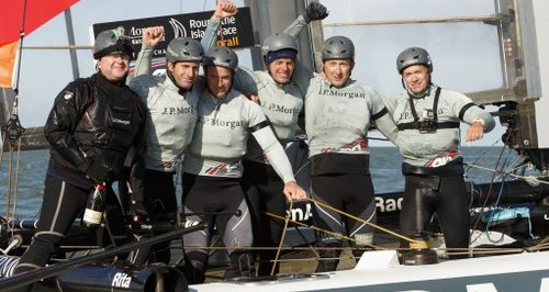 Sir Ben Ainslie at Round the Island Race