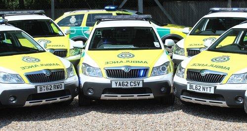 Ambulance Skoda Scouts