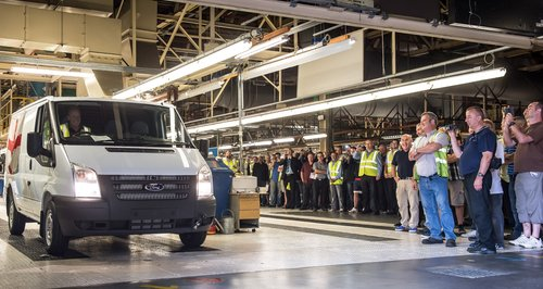 Last Ford Transit In Southampton