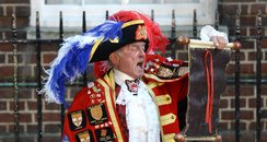 Town Crier during the Royal baby annoucement