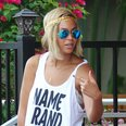 Beyonce shows off new hair