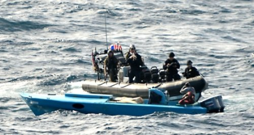 HMS Lancaster drugs bust