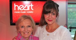 Lucy with Mary Berry and Cake