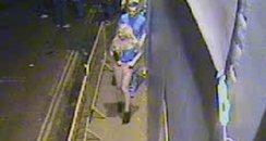 Junk CCTV witnesses couple