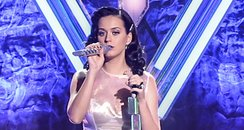 Katy Perry performs on stage