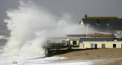 waves at Selsey beach