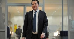 George Osborne in a black suit