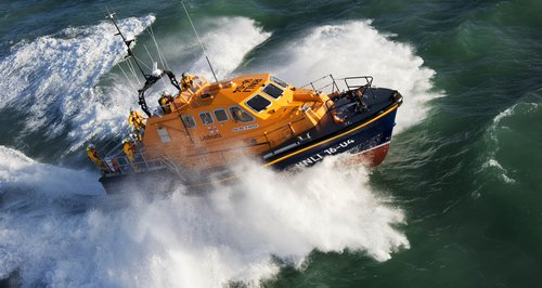 Padstow's Tamar Class lifeboat