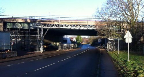 M5 Bridge works in Gloucestershire