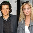 Orlando Bloom and Nora Arnezeder