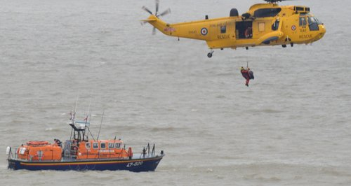 RNLI Rescue Lowestoft Feb 2014
