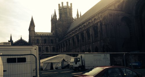 Ely Cathedral Filming