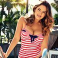 Kelly Brook launches New Look Swimwear range
