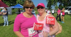 Heart Angels: Pink Ladies at Aylesbury Race for Li