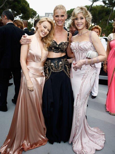 Kylie Minogue, Lara Stone and Jane Fonda