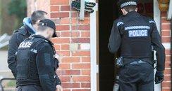 Hampshire police search