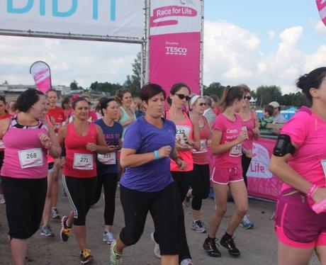 Race for Life Cheltenham - The Day 2014