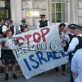 Israel Protest At Cabinet Office
