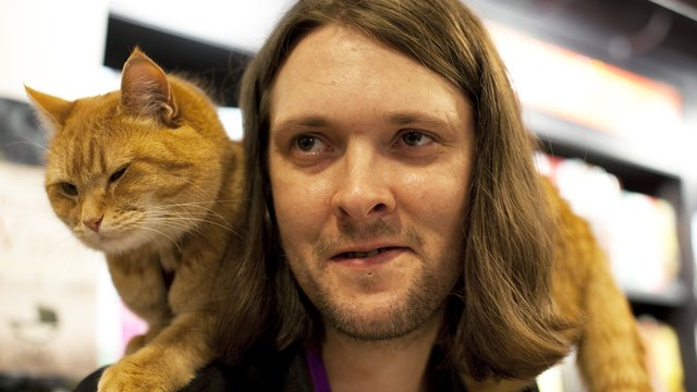 Cast Of Street Cat Named Bob Scarf