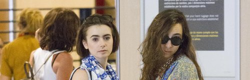 Lily Collins make up free